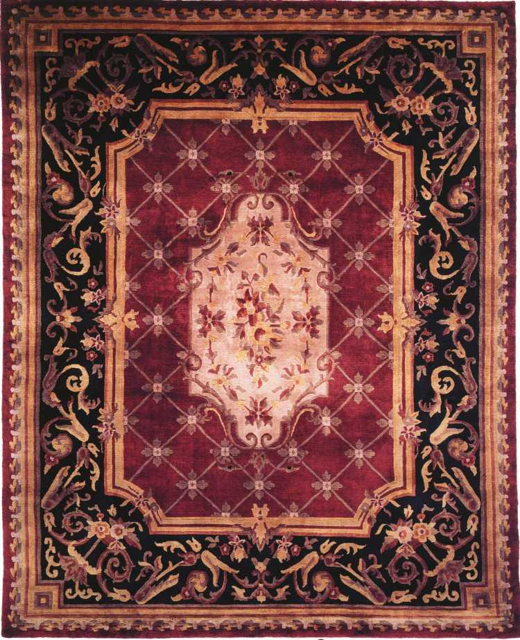 Wool Rug 8x10 New Large Traditional Persian Oriental
